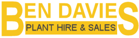 Ben Davies Plant Hire and Groundworks Logo